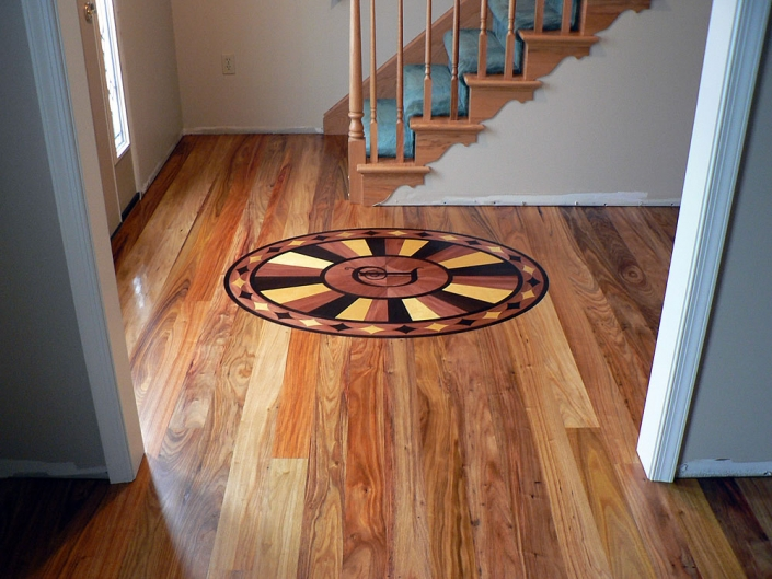 4 1-4 Canary Wood Floor with Natural Finish