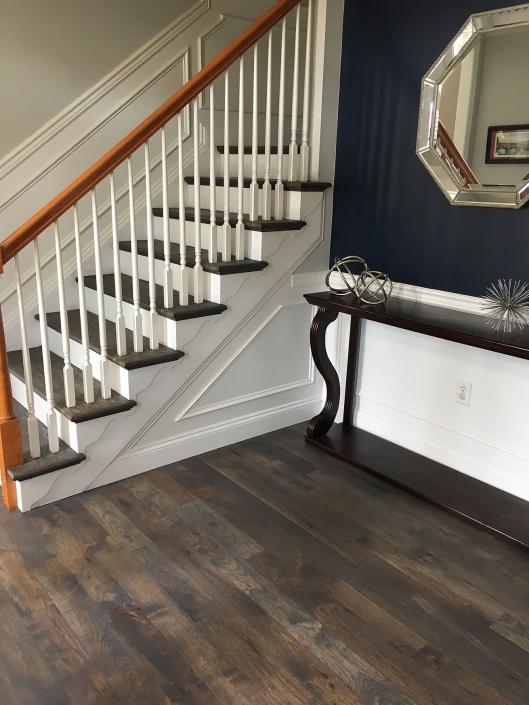 Rustic Hickory Flooring Custom Rubio Finish