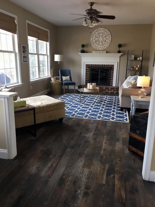 Rustic Hickory Flooring