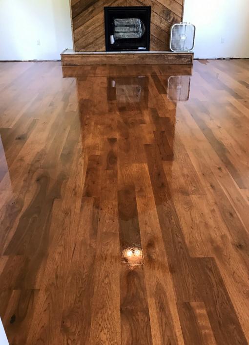 Hardwood Floors After