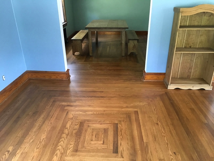 After Refinishing Floors