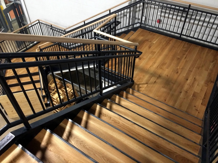 Troegs brewery project stairs