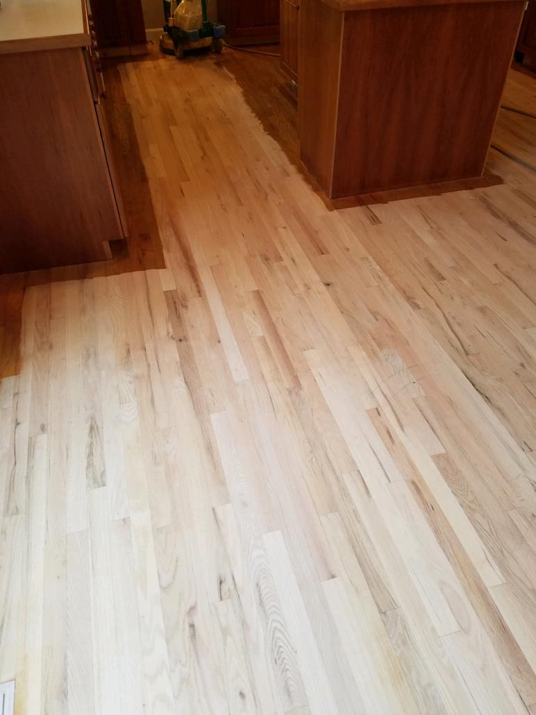 presanded floors
