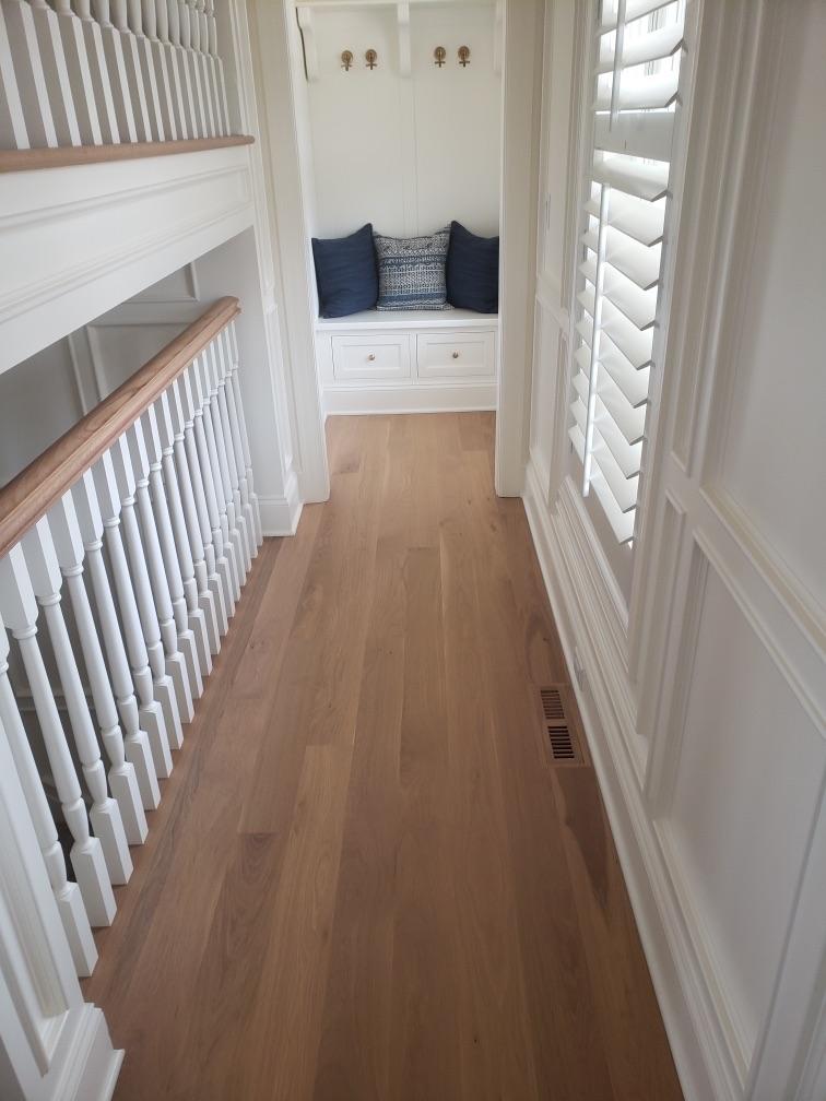 finished hall way